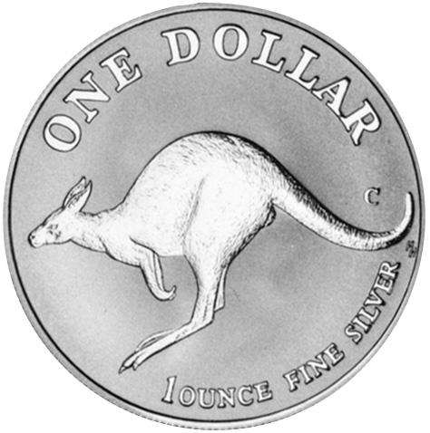 1998 Australia Dollar reverse