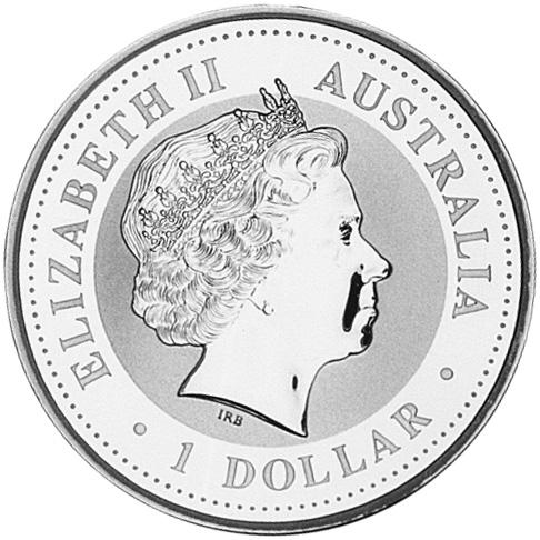 1999 Australia Dollar obverse