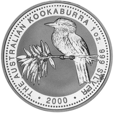 2000 (1999) Australia Dollar reverse