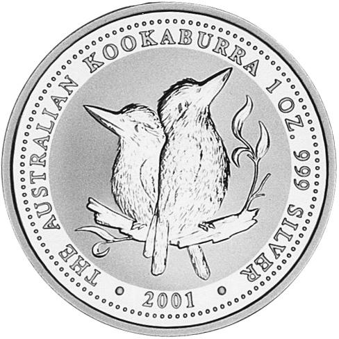 2001 Australia Dollar reverse