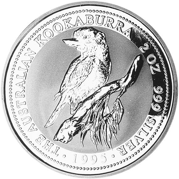 1994-1995 Australia 2 Dollars reverse