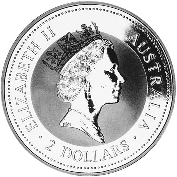1994-1995 Australia 2 Dollars obverse