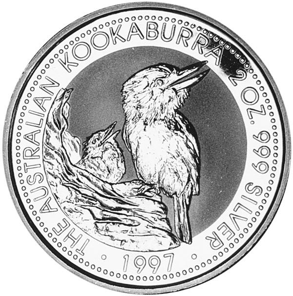 1997 Australia 2 Dollars reverse