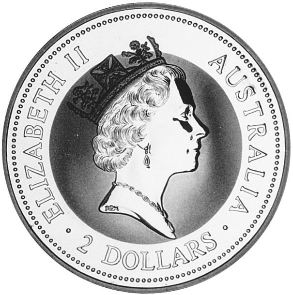 1997 Australia 2 Dollars obverse