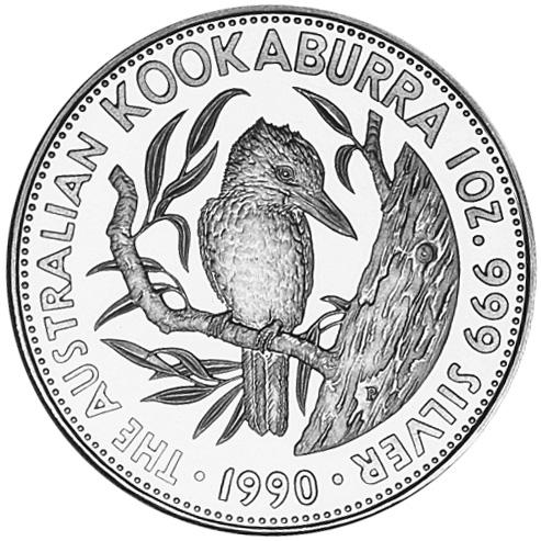 1990-1991 Australia 5 Dollars reverse