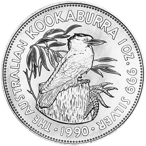 1990 Australia 5 Dollars reverse