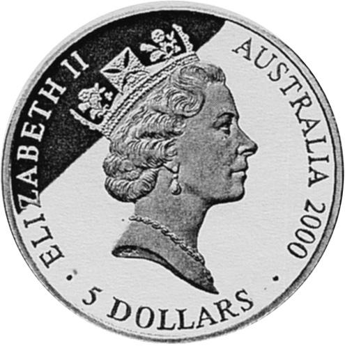 2000 (1998) Australia 5 Dollars obverse