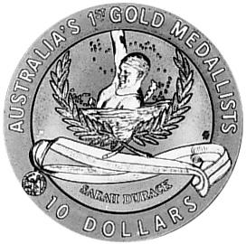 1994 Australia 10 Dollars reverse