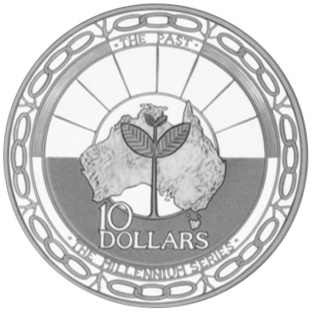 1999 Australia 10 Dollars reverse
