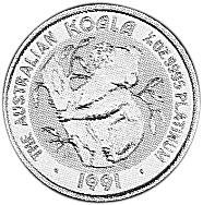 1990-1991 Australia 15 Dollars reverse