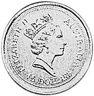 1994 Australia 15 Dollars obverse