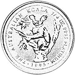 1994-1995 Australia 25 Dollars reverse