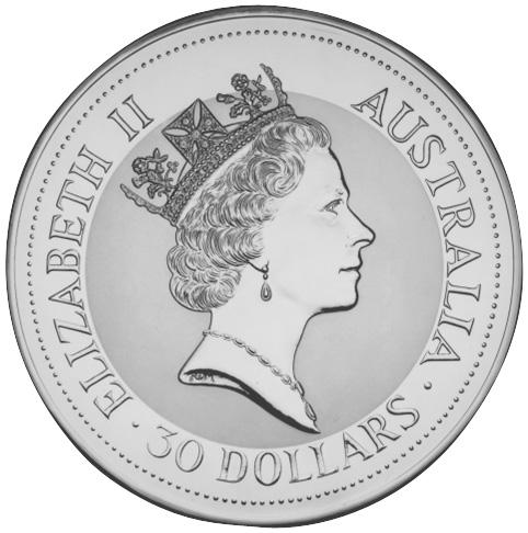 1992-1993 Australia 30 Dollars obverse