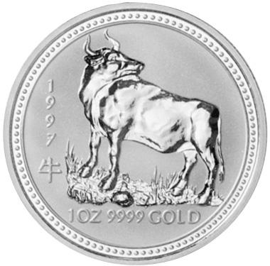 1997 Australia 100 Dollars reverse
