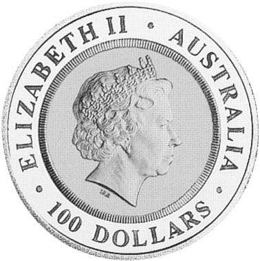 (1999) Australia 100 Dollars obverse