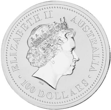 2000 Australia 100 Dollars obverse