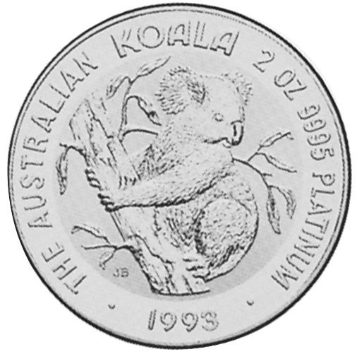 1993-1997 Australia 200 Dollars reverse
