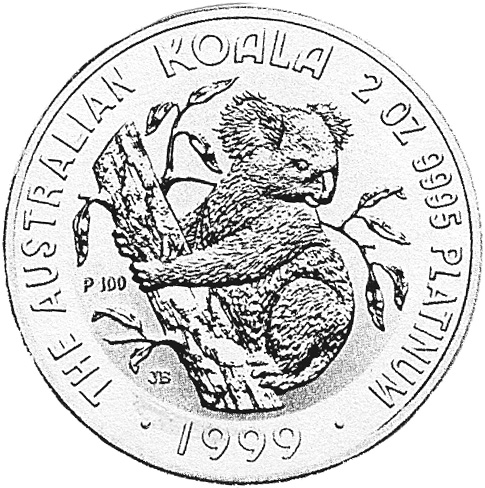 1999 Australia 200 Dollars reverse