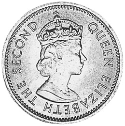 1955-1965 East Caribbean States 5 Cents obverse