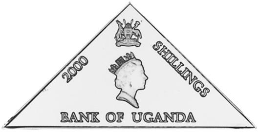 2000 Uganda 2000 Shillings obverse
