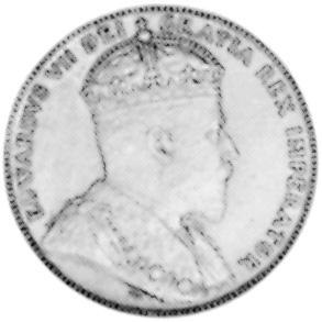 1904-1909 Newfoundland Large Cent obverse