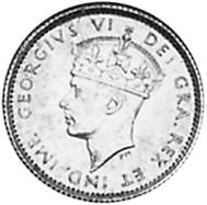 1938-1943 Newfoundland 5 Cents obverse