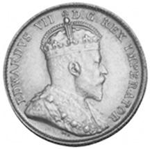 1903-1904 Newfoundland 10 Cents obverse
