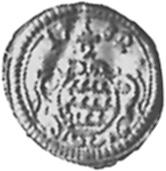 1695-1733 German States WURTTEMBERG 1/2 Kreuzer, 4 Pfennig reverse