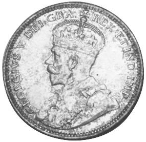 1912 Newfoundland 20 Cents obverse
