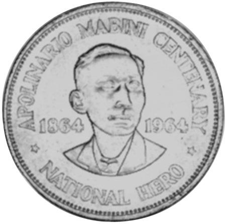 (1964) Philippines Peso reverse