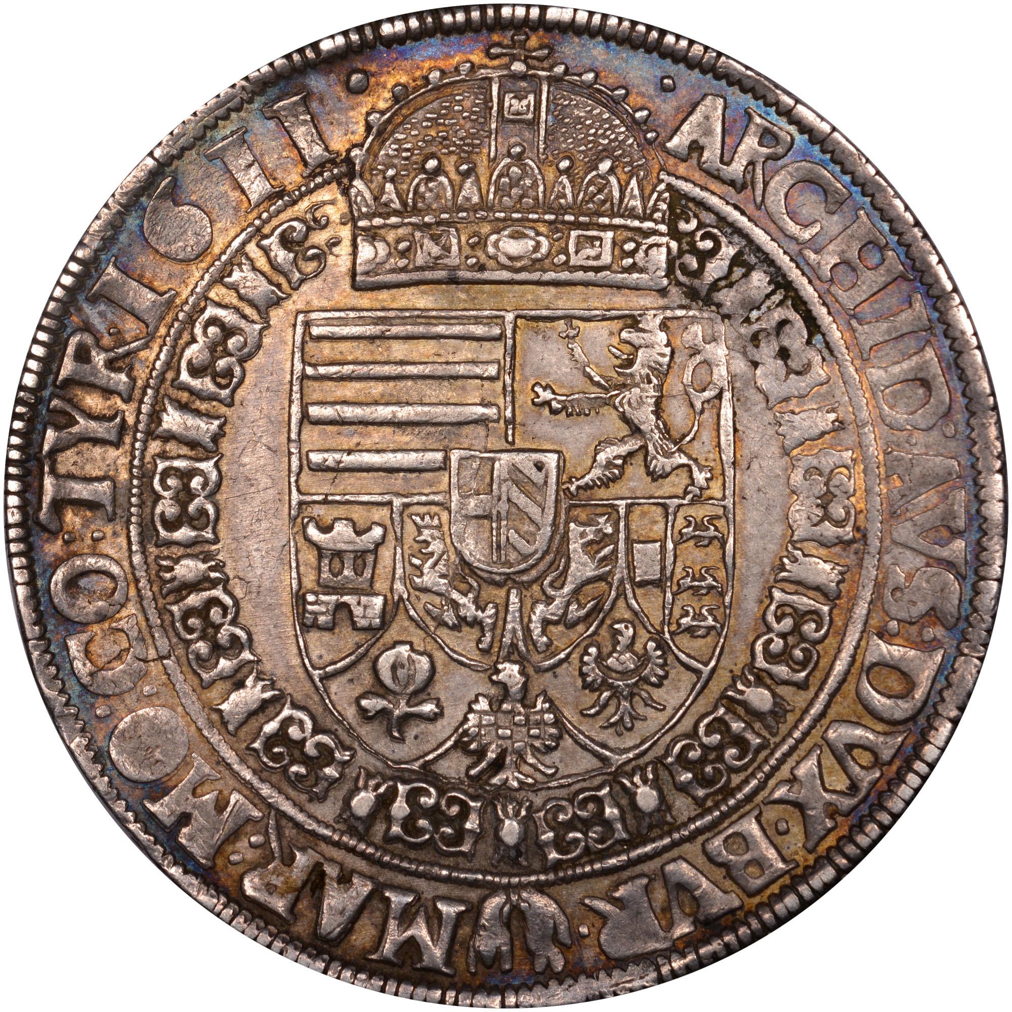 1610-1611 Austria Thaler reverse