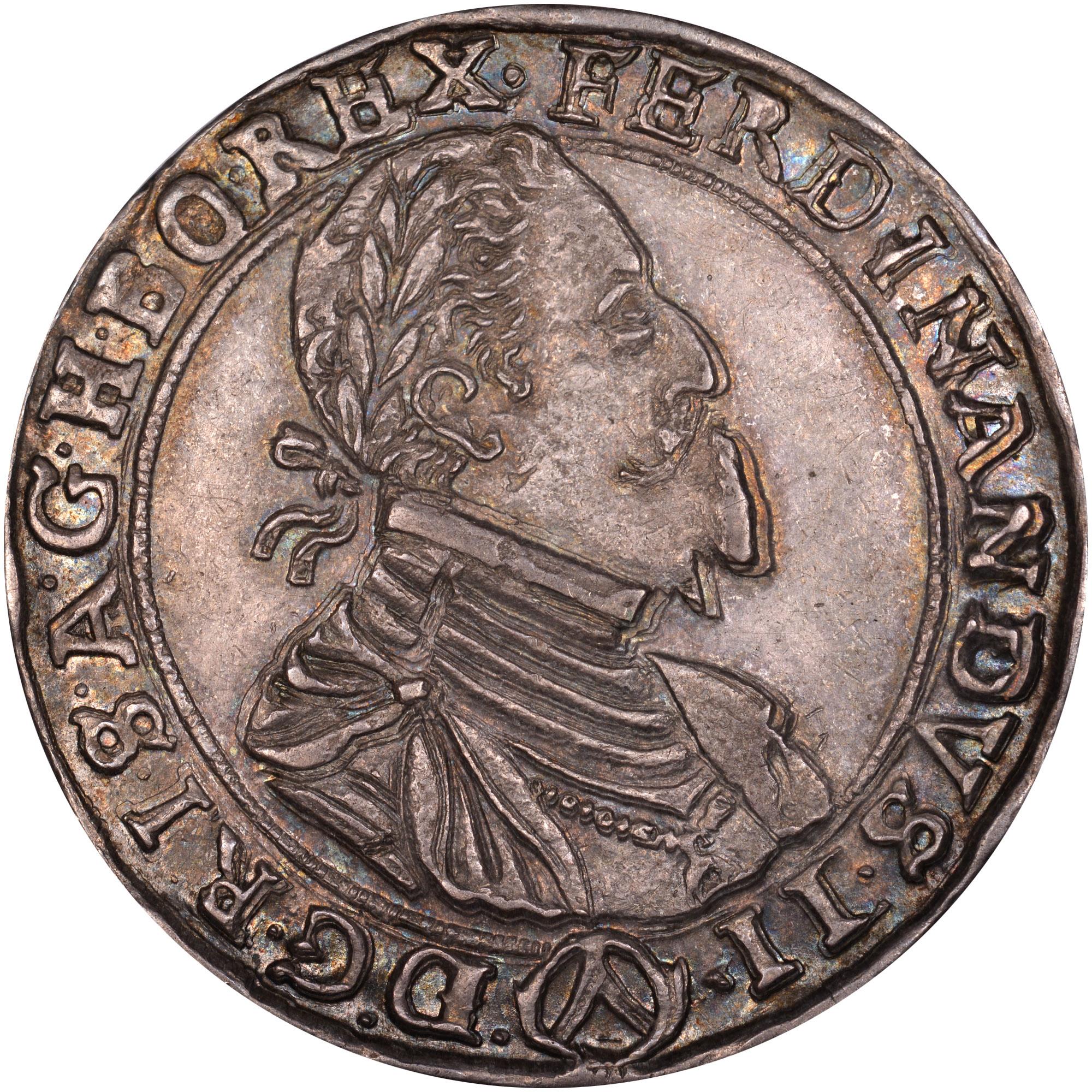 1625-1638 Austria Thaler obverse