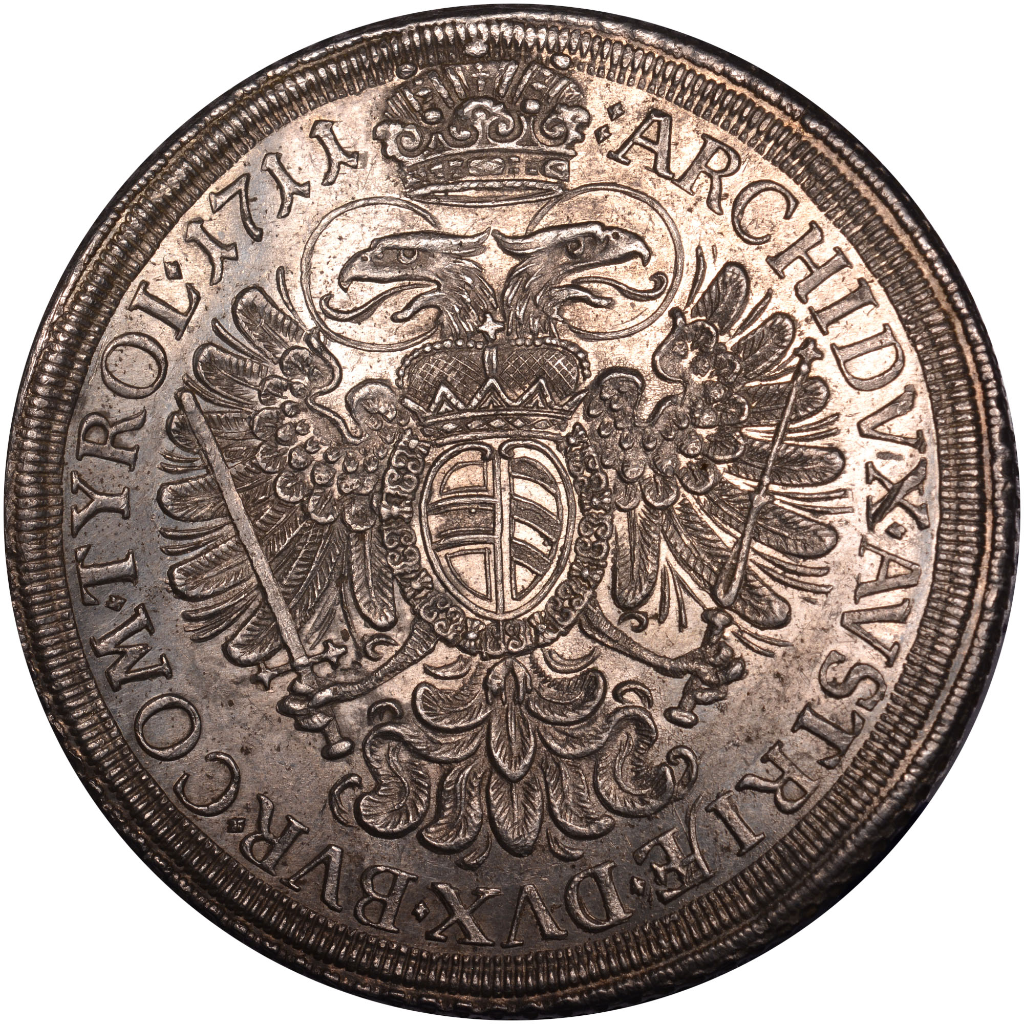 1710-1711 Austria Thaler reverse