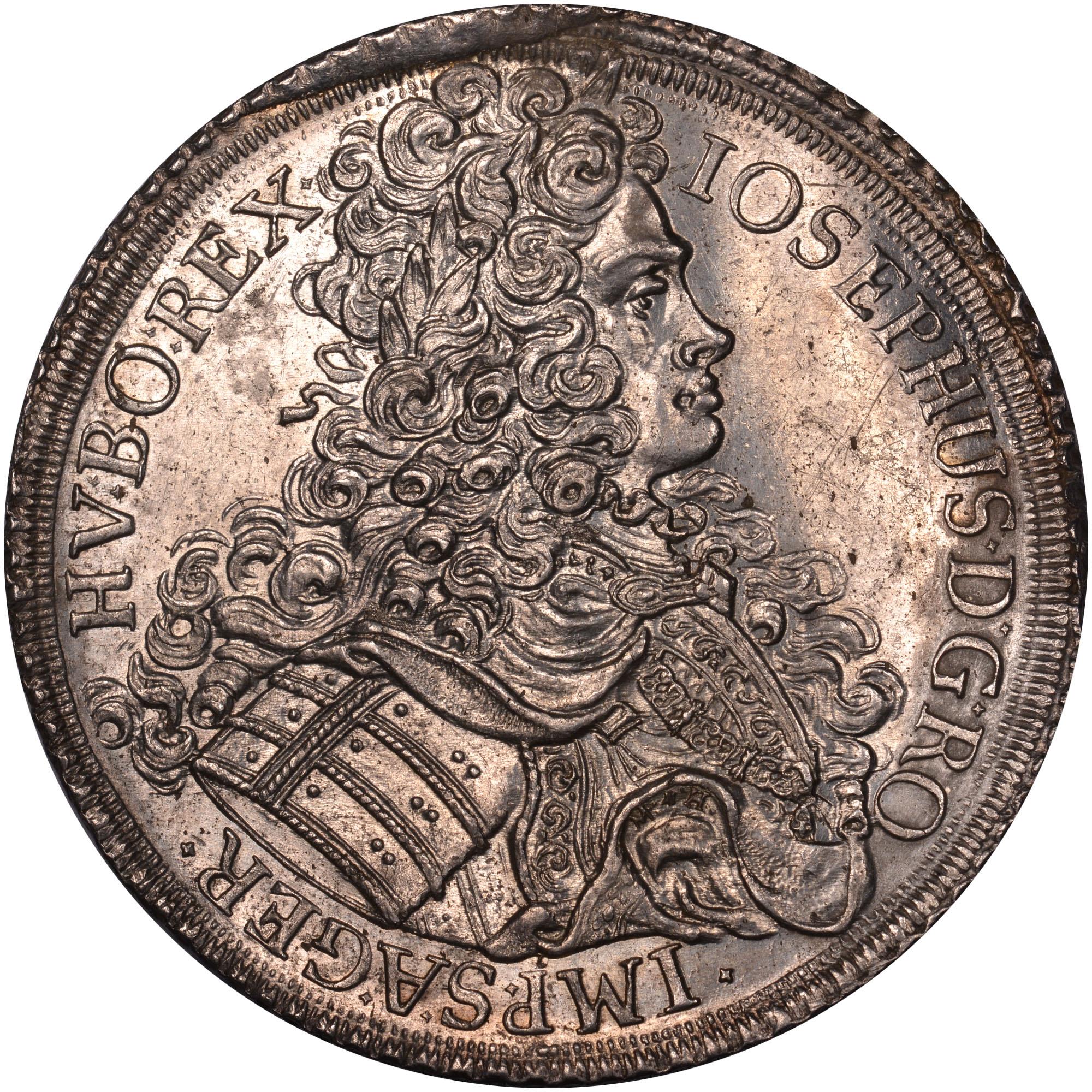 1710-1711 Austria Thaler obverse