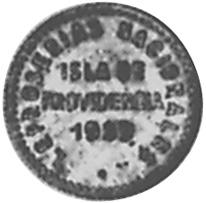 1939 Venezuela LEPER COLONIES 0.05 Bolivar, 5 Centimos obverse