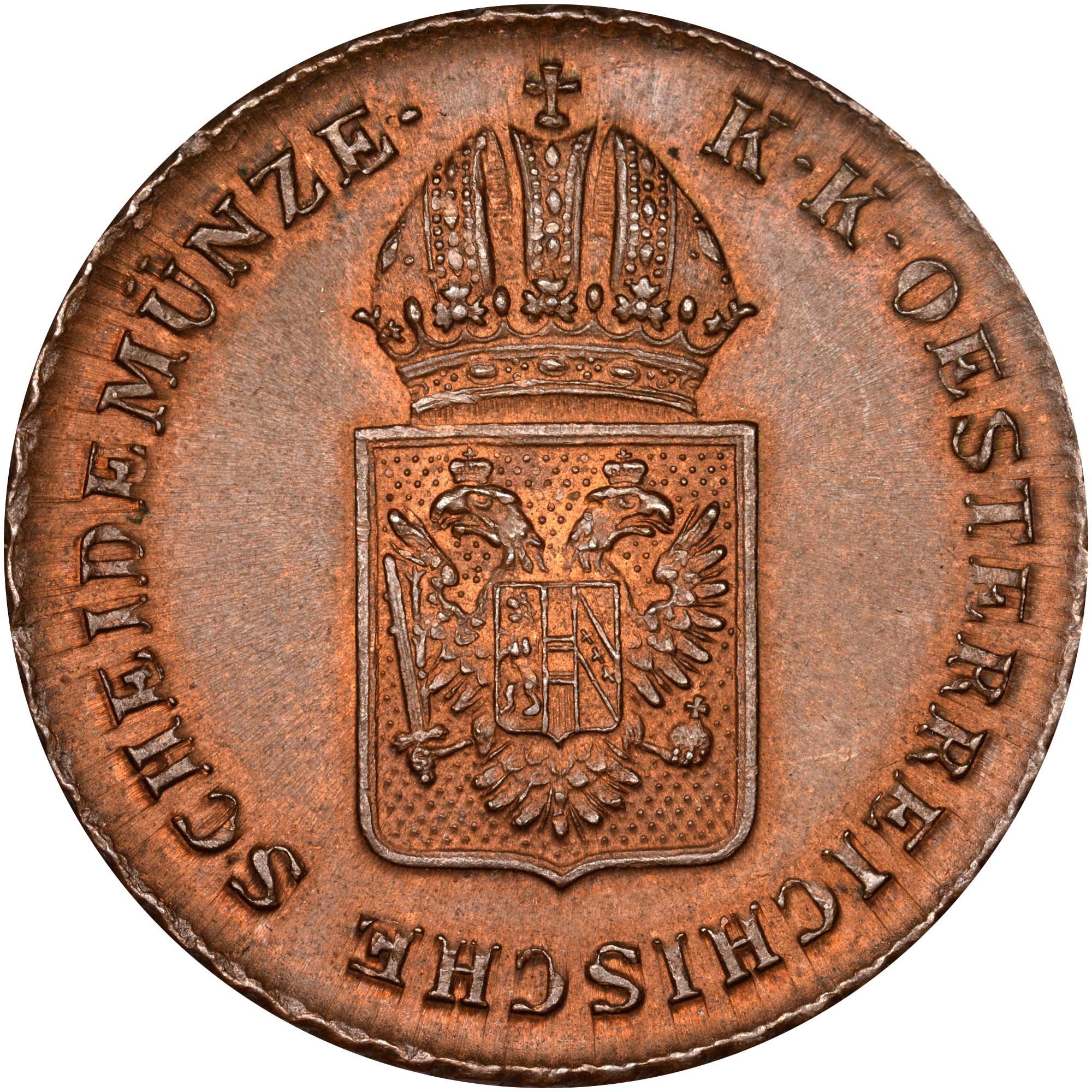 1816 Austria Kreuzer obverse