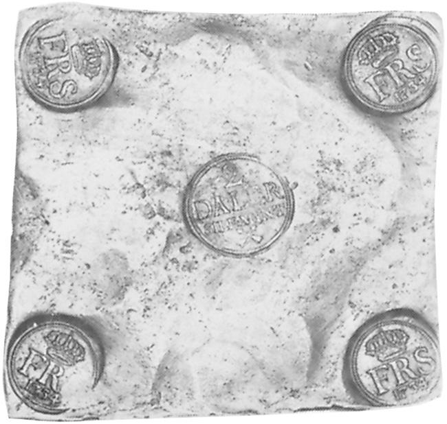 1720-1750 Sweden 2 Daler S.m. obverse