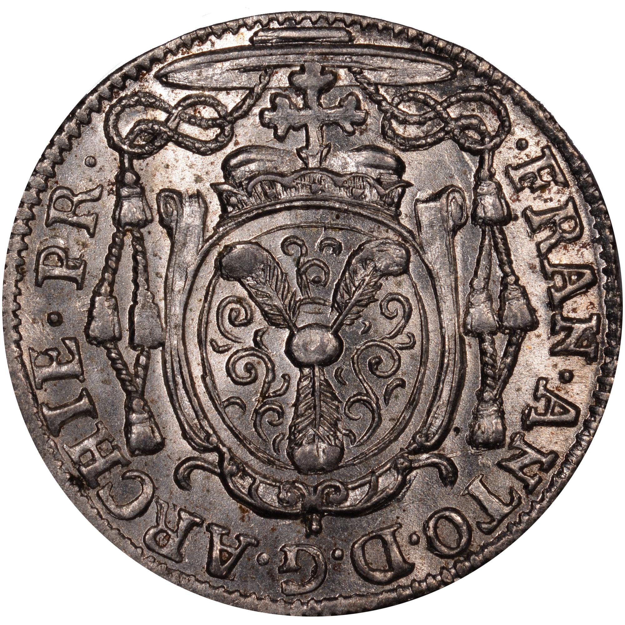 1708-1726 Austrian States SALZBURG 2 Kreuzer, 1/2 Batzen obverse