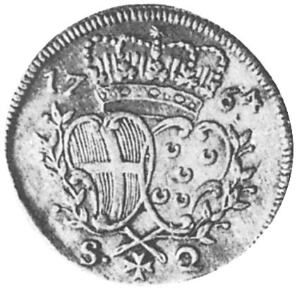 1764 Malta, Order Of 2 Scudi reverse