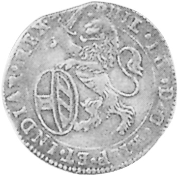 1623-1635 Spanish Netherlands ARTOIS Escalin obverse