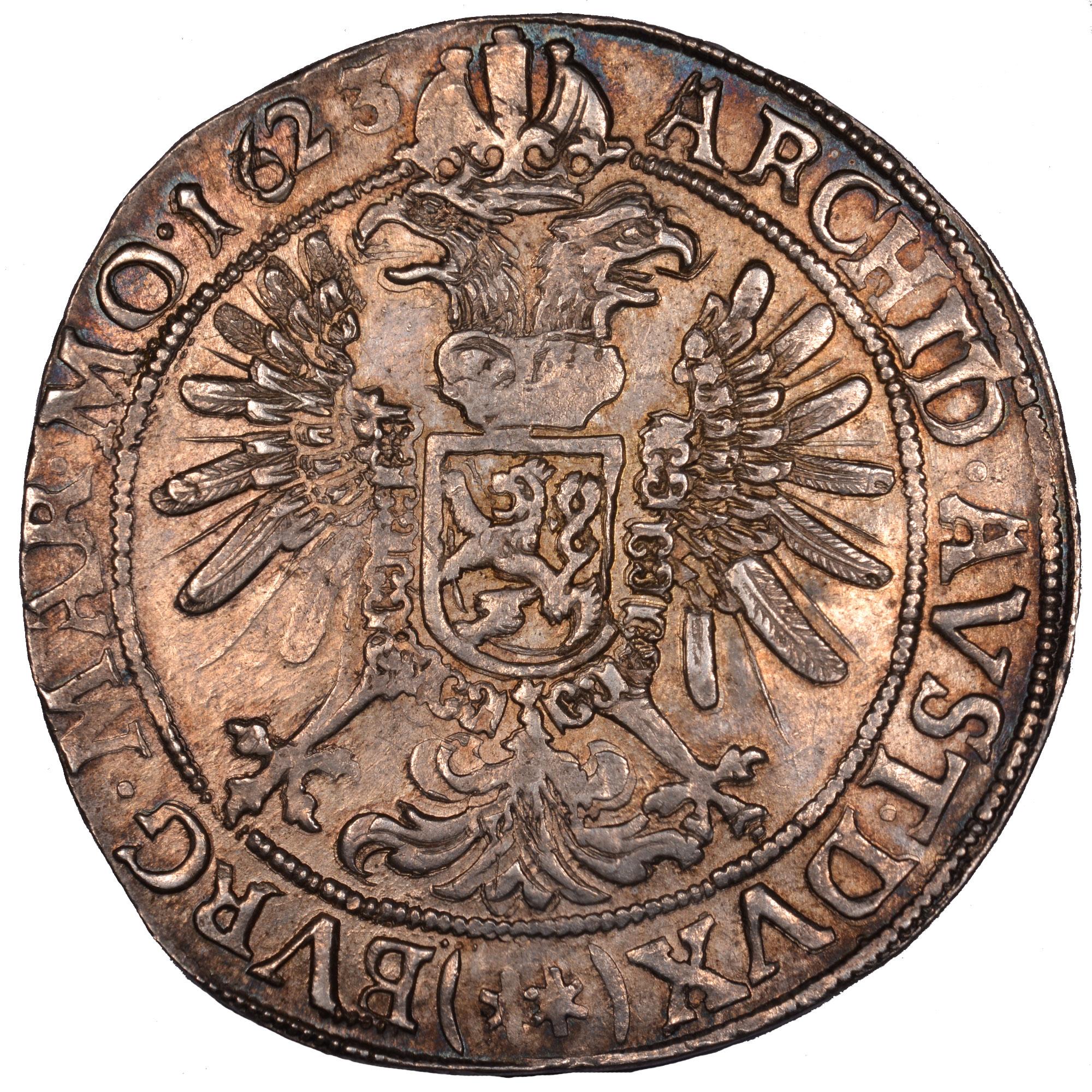 1623-163Z Bohemia Thaler reverse
