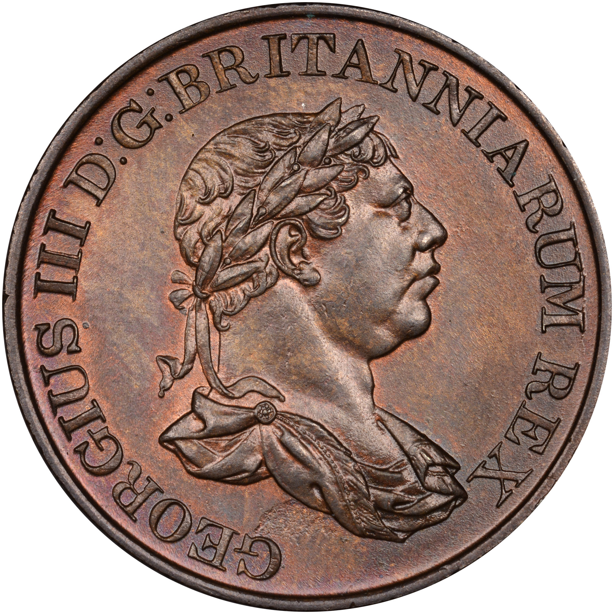 1815 Ceylon Stiver obverse