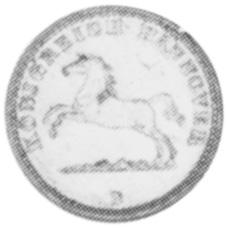 1858-1866 German States HANNOVER Groschen obverse
