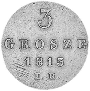 1810-1814 Poland 3 Grosze reverse