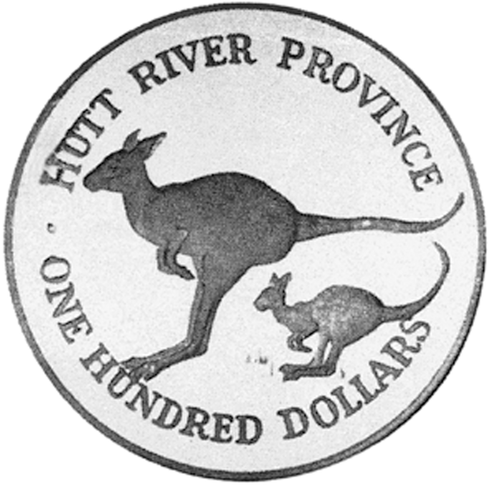 1986 Hutt River Province 100 Dollars obverse