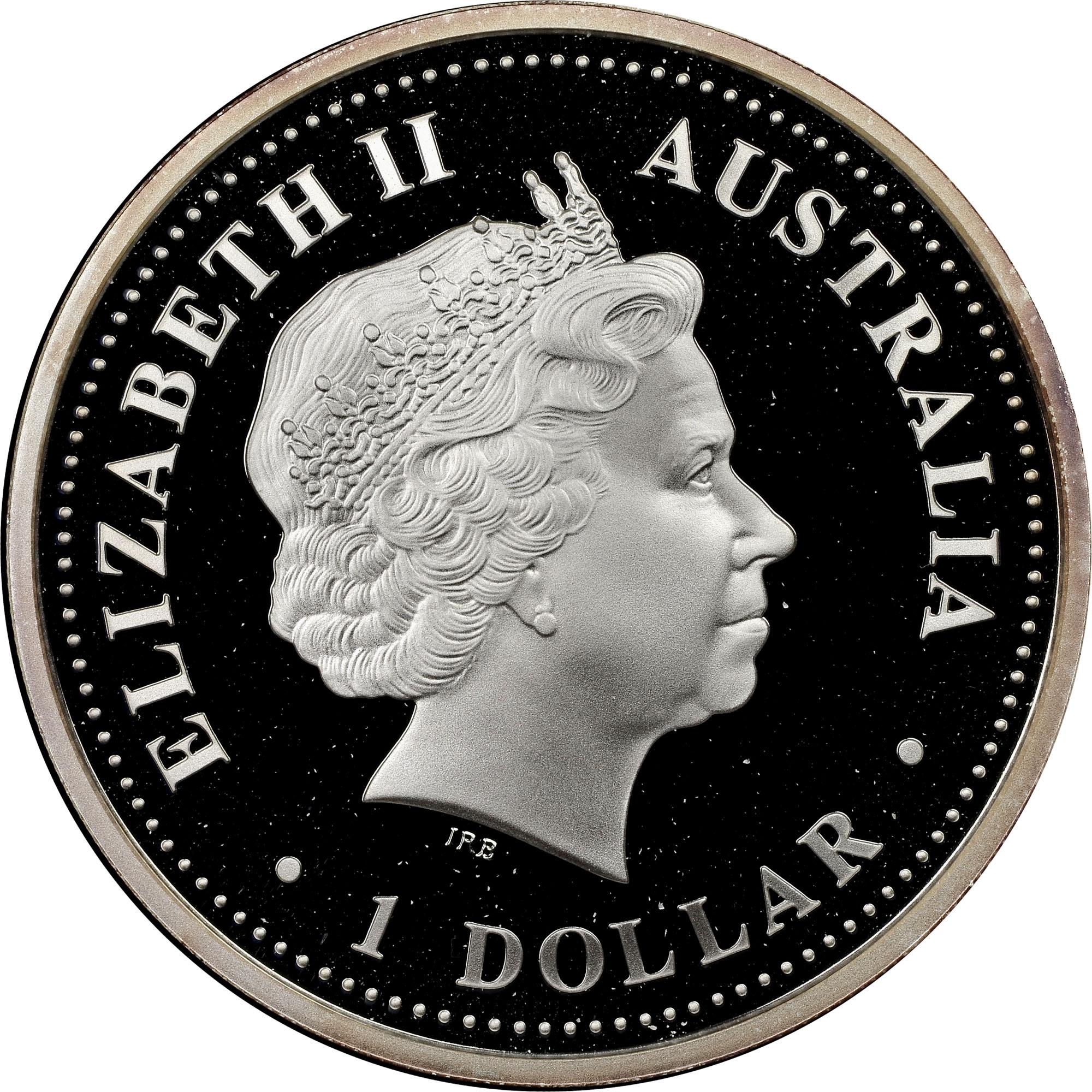 2004 Australia Dollar obverse