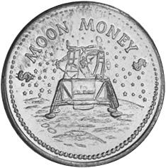 (1969) Moon Penny obverse