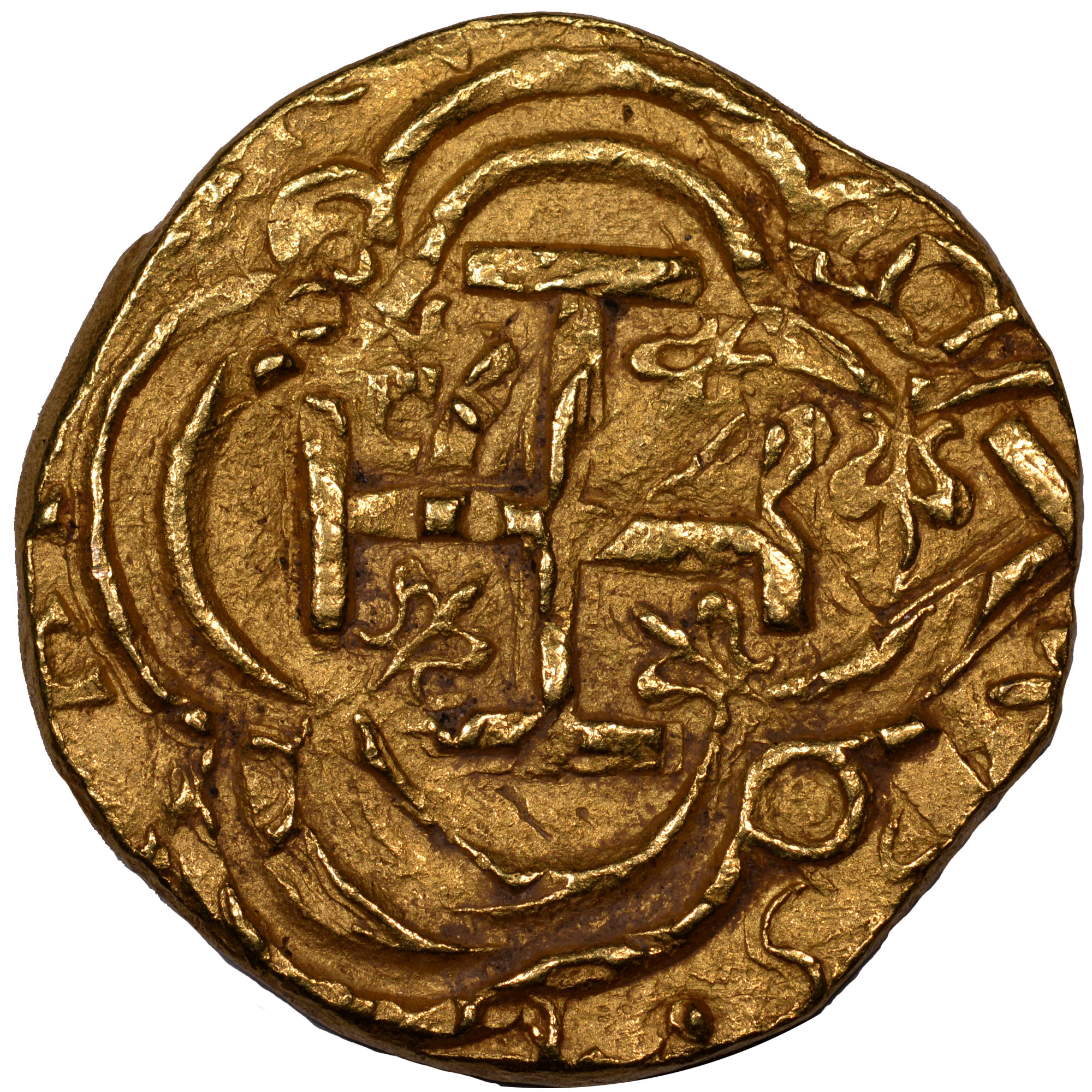 (1627-29)-1665 Colombia 2 Escudos reverse