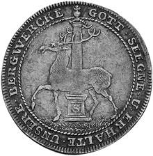 1715-1738 German States STOLBERG-STOLBERG 2/3 Thaler, Gulden reverse