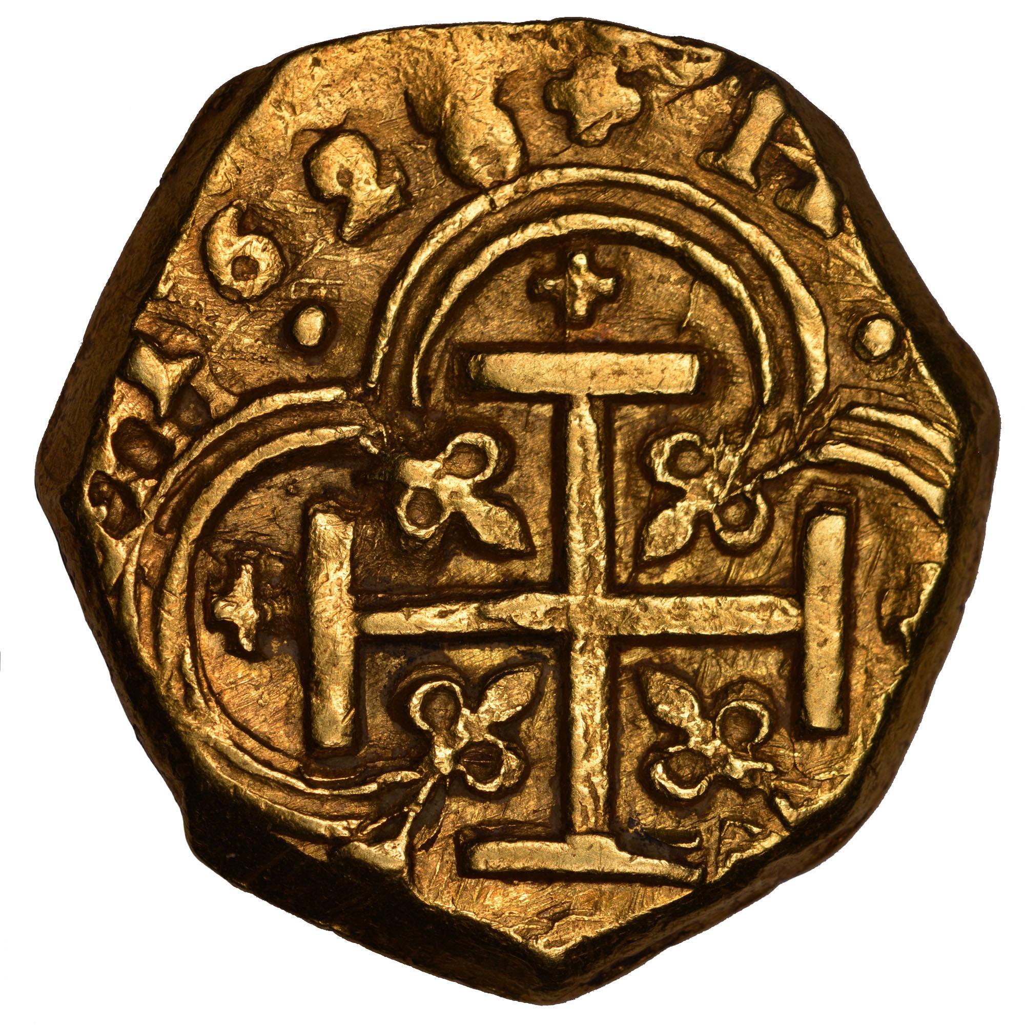 (1627-29)-1635 Colombia 2 Escudos reverse